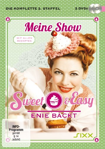 Sweet & Easy: Enie backt Staffel 2 (2 DVDs + Booklet mit allen Rezepten)