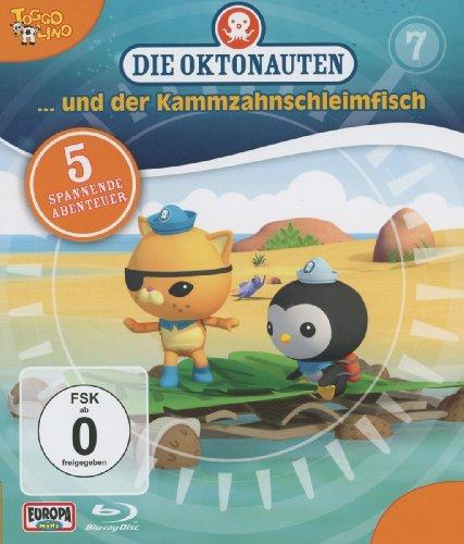 Die Oktonauten, Vol. 7: Die Oktonauten und der Kammzahnschleimfisch [Blu-ray]