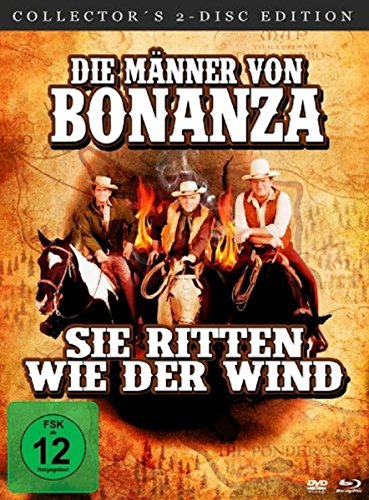 Die Männer von Bonanza - Sie ritten wie der Wind (Digital Remastered) (Collector's Edition+DVD) [Blu-ray] Digital Remastered (Collector's Edition+DVD) [Blu-ray]