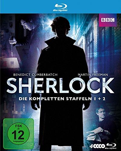 Sherlock Staffel 1+2 [Blu-ray]