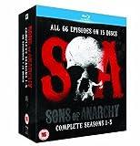 Sons Of Anarchy - Season 1-5 [Blu-ray]