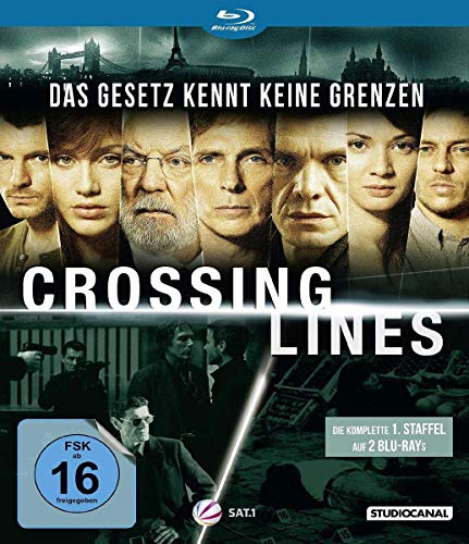 Crossing Lines Staffel 1 [Blu-ray]