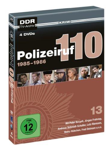 Polizeiruf 110 Box 13: 1986 (DDR TV-Archiv) (4 DVDs)