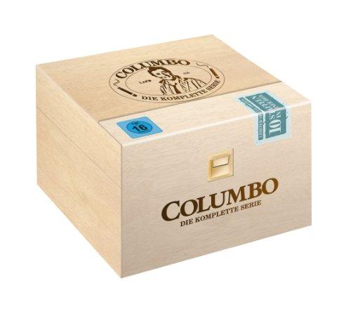 Columbo Holzbox Season 1-10 (Limitiert / Exklusiv bei Amazon.de) (35 DVDs)