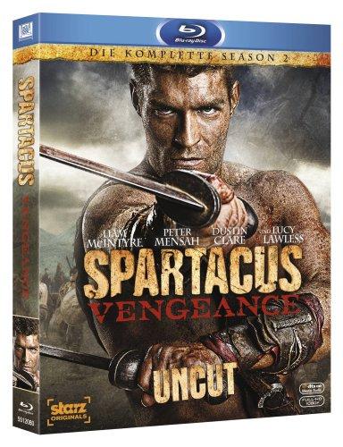 Spartacus: Vengeance (Uncut) [Blu-ray]