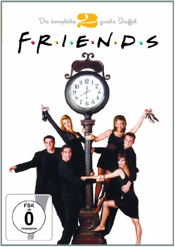 Friends Staffel  2 Box Set (4 DVDs)