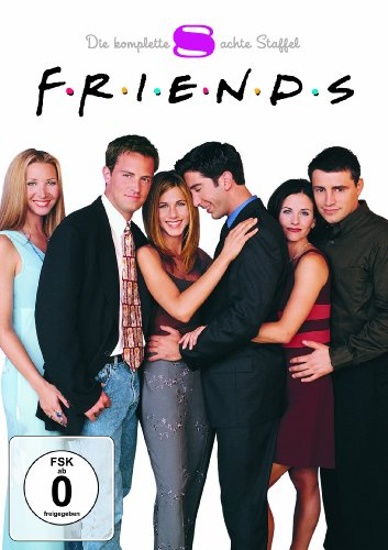 Friends Staffel  8 Box Set (4 DVDs)