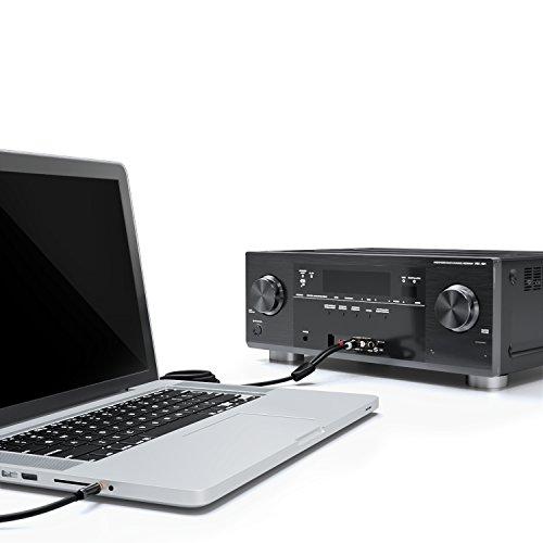 Passend zu allen Geräte mit 3,5mm Klinken Audio-Anschluss: MP3-Player, iPhone, iPod, iPad, Samsung Galaxy, Handy, Smartphone, TV-Gerät, HiFi Anlage usw...