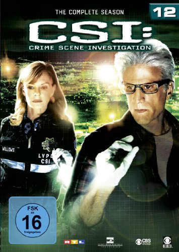 CSI Season 12 (6 DVDs)