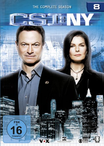 CSI: NY Season 8 (6 DVDs)