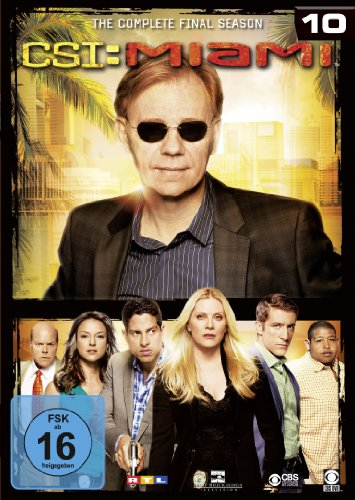 CSI: Miami Season 10 (6 DVDs)