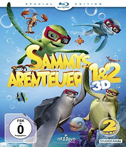 Sammys Abenteuer  1 & 2 [3D Blu-ray]