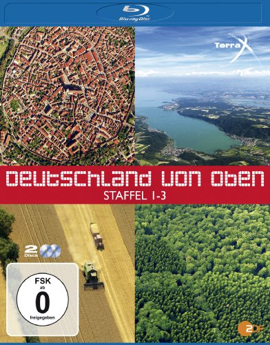 Terra X - Deutschland von oben 1-3 [Blu-ray]