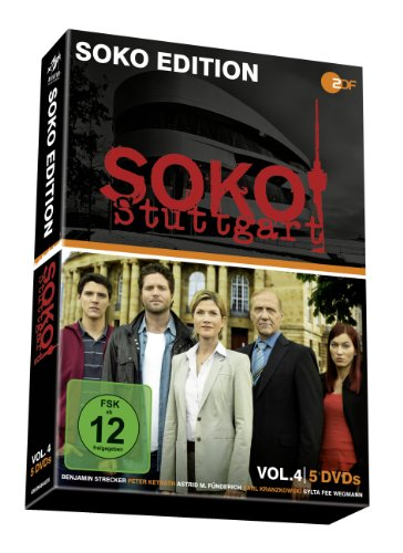 SOKO Stuttgart Vol. 4 (5 DVDs)