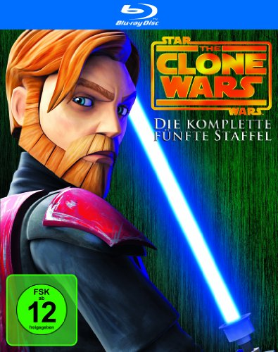 Star Wars - The Clone Wars: Staffel 5 [Blu-ray]