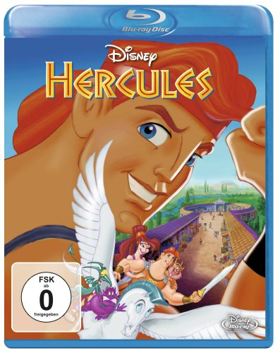 Disneys Hercules Blu-ray
