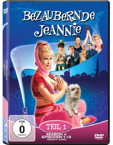 Bezaubernde Jeannie Season 4.1 (2 DVDs)