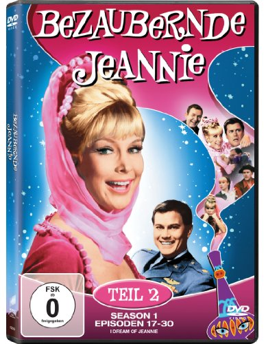 Bezaubernde Jeannie Season 1.2 (2 DVDs)