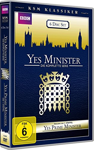 Yes Minister Die komplette Serie & Yes Premierminister - Staffel 1 (6 DVDs)
