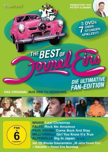 Best of Formel Eins - Fan Edition (3 DVDs)