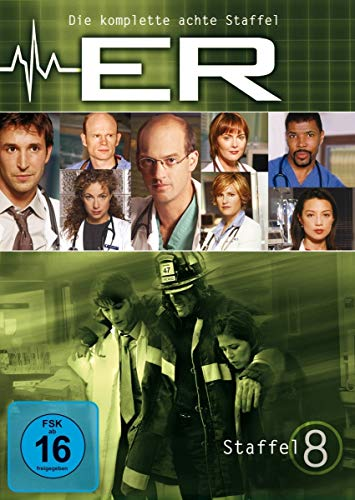 E.R. - Emergency Room Staffel  8 (6 DVDs)