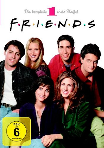 Friends Staffel  1 Box Set (4 DVDs)
