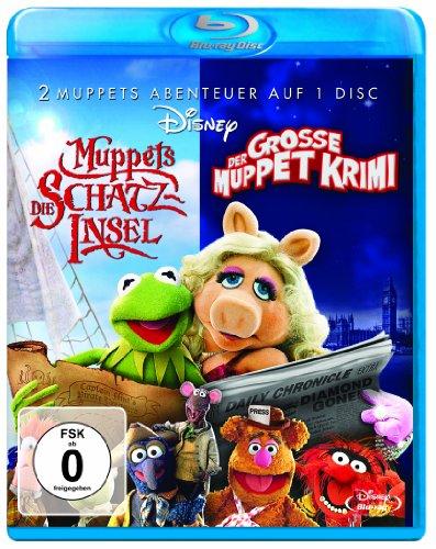 Der große Muppet Krimi / Muppets - Die Schatzinsel Blu-ray