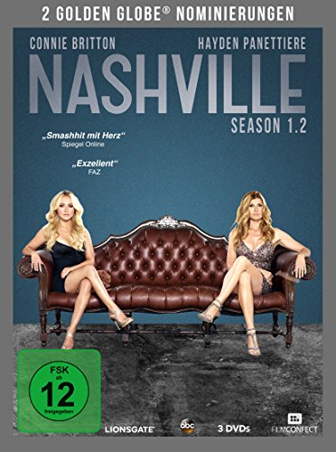Nashville Season 1.2 (3 DVDs)