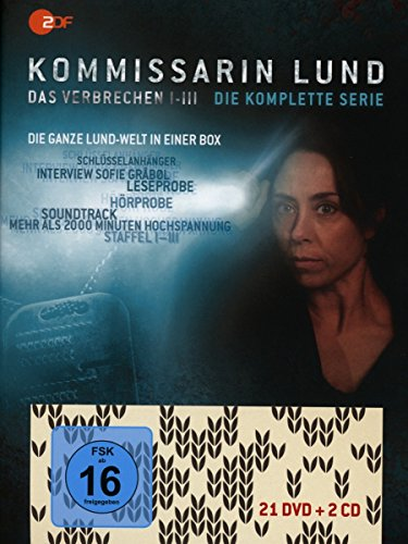 Kommissarin Lund Die komplette Serie (Limited Edition) (21 DVDs + 2 CDs)
