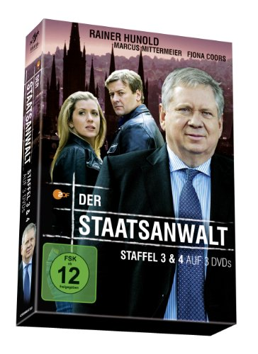 Der Staatsanwalt Staffel 3 & 4 (3 DVDs)