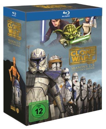 Star Wars - The Clone Wars: Staffel 1-5 [Blu-ray]