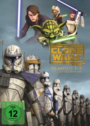 Star Wars - The Clone Wars: Staffel 1-5