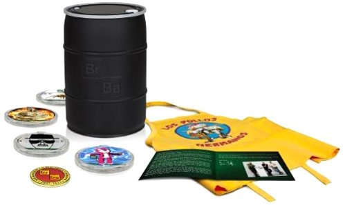 Breaking Bad Die komplette Serie (Deluxe Gift Set) (Limited Edition) [Blu-ray]