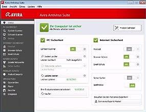 Avira Antivirus Suite 2014 - 1 User , Abbildung #01