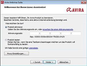 Avira Antivirus Suite 2014 - 1 User , Abbildung #02