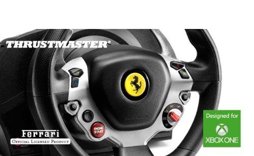 thrustmaster tx racing wheel lenkrad inkl 2 pedalset. Black Bedroom Furniture Sets. Home Design Ideas