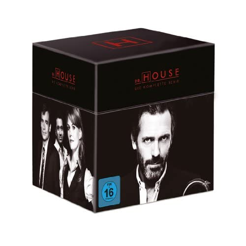 Dr. House Gesamtbox (46 DVDs)