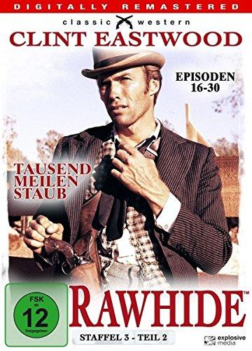 Rawhide Tausend Meilen Staub - Season 3.2 (4 DVDs)