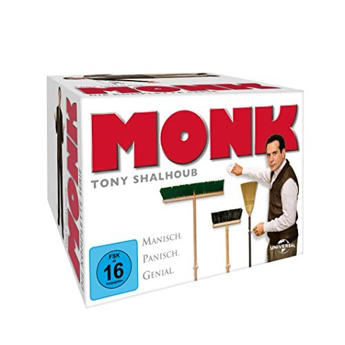 Monk Die komplette Serie (32 DVDs)