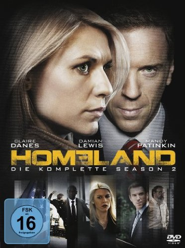 Homeland Season 2 (4 DVDs)