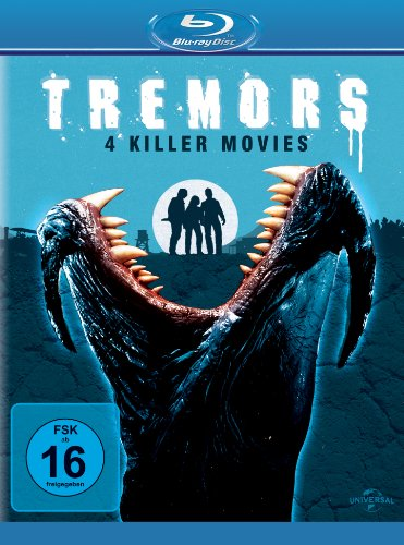 Tremors 1-4 (Blu-Ray)