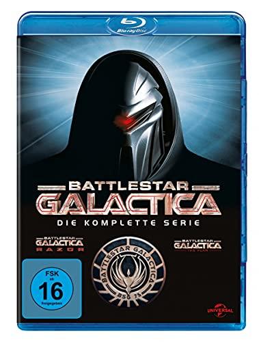 Battlestar Galactica Die komplette Serie [Blu-ray]