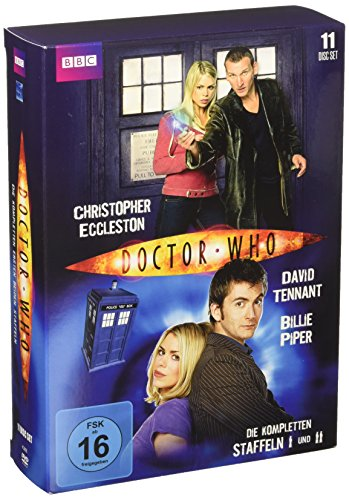 Doctor Who Staffeln 1+2 (11 DVDs)