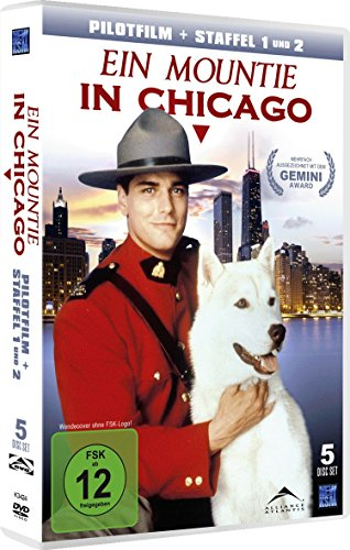 Ein Mountie in Chicago Staffel 1 & 2 inkl. Pilotfilm (5 DVDs)