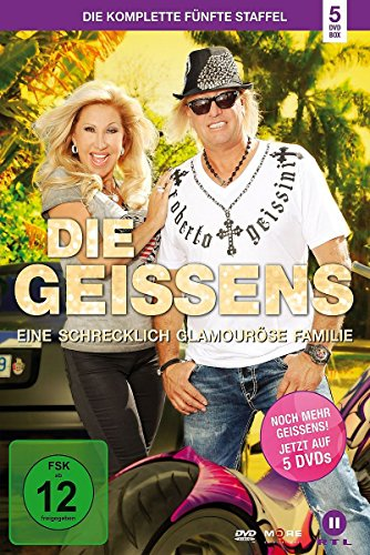 Die Geissens - Eine schrecklich glamouröse Familie: Staffel  5 (5 DVDs)