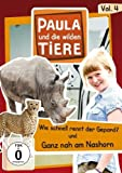 Paula und die wilden Tiere, Vol. 4: Wie schnell rennt ein Gepard?/Ganz nah am Nashorn