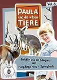 Paula und die wilden Tiere, Vol. 6: Hüpfen wie ein Känguru/Hopp hopp hopp - Springbock