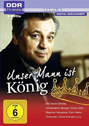 Unser Mann ist König (DDR TV-Archiv) (3 DVDs)