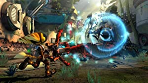 Screenshot: Ratchet & Clank Nexus