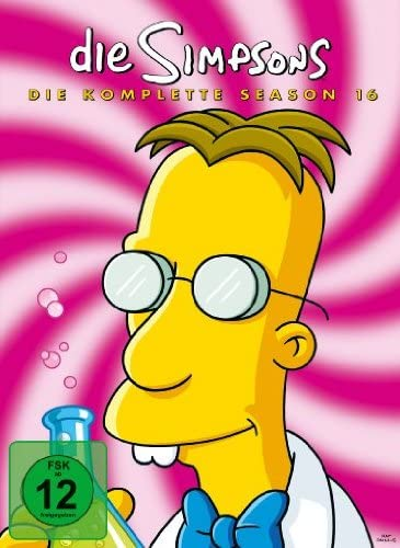 Die Simpsons Season 16 (4 DVDs)